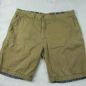 Polo Ralph Lauren Khaki Plaid 38 Reversible Shorts